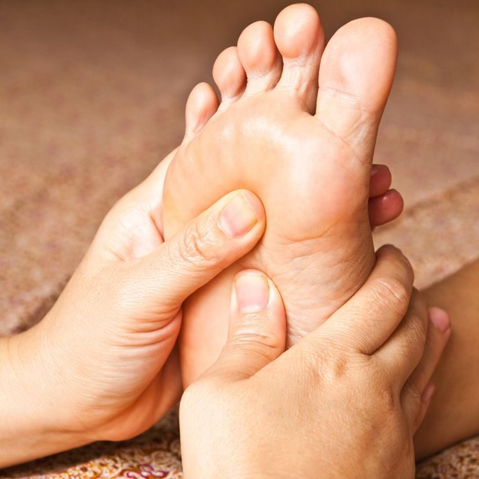 17949148 - reflexology foot massage, spa foot treatment,thailand